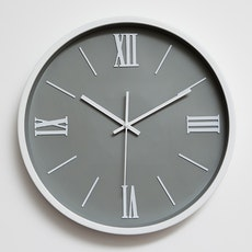Roman Rule Wall Clock