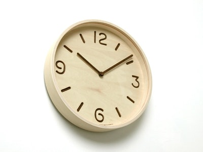 Thomson Wall Clock - Natural