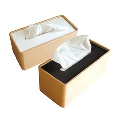 Stock Tissue Holder - Black