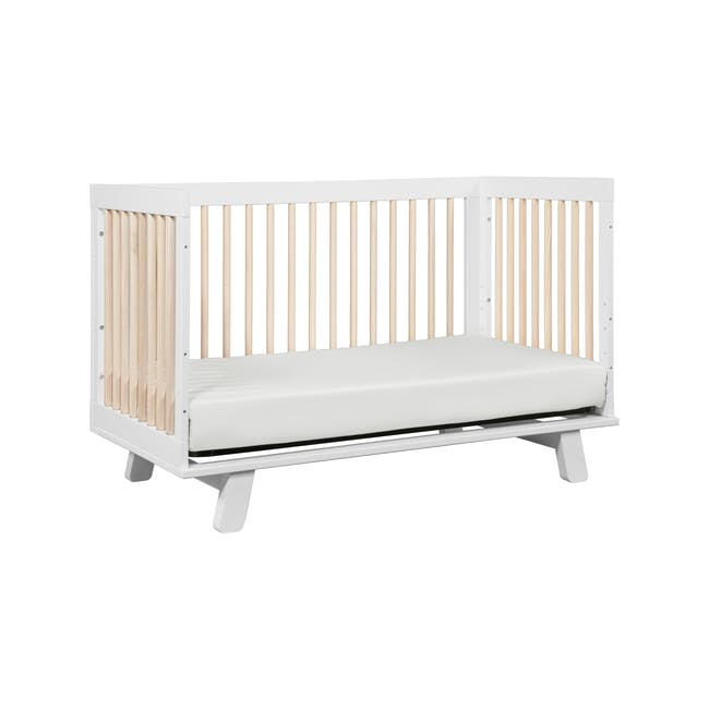 Babyletto Hudson 3-in-1 Convertible Crib - White & Washed - 6