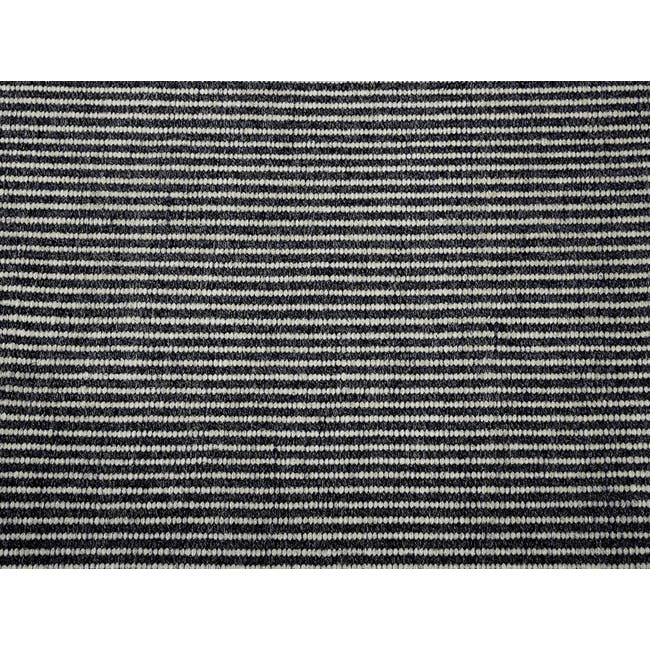Vector Flatwoven Rug 2.4m by 1.7m - Black - 1