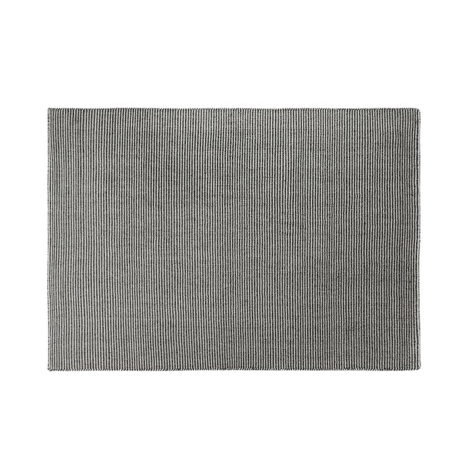 Vector Flatwoven Rug 2.4m by 1.7m - Black - 0