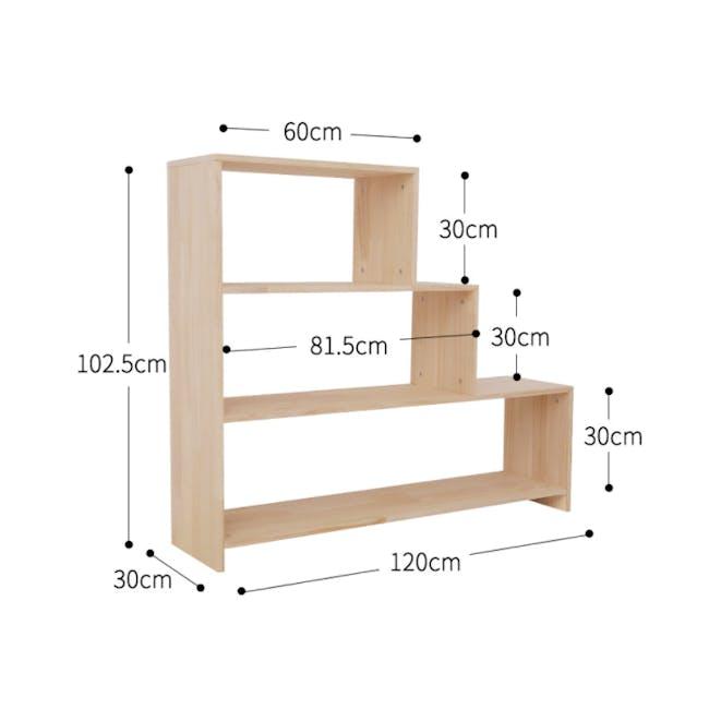 Nizu 3 Step Book Shelf - 3