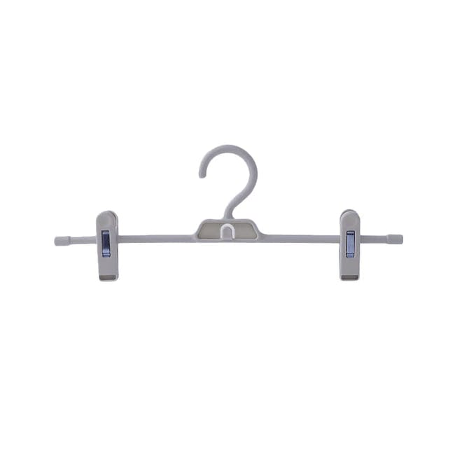 Jacob Hangers with Clips (Set of 5) - Dark Grey - 0