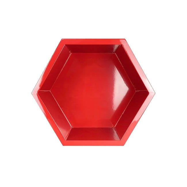 Acacia Block - Red - 0