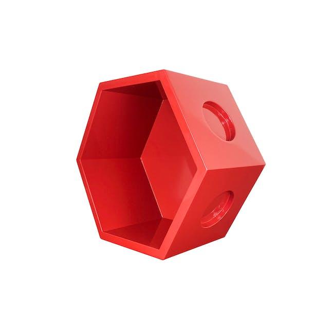 Acacia Block - Red - 5