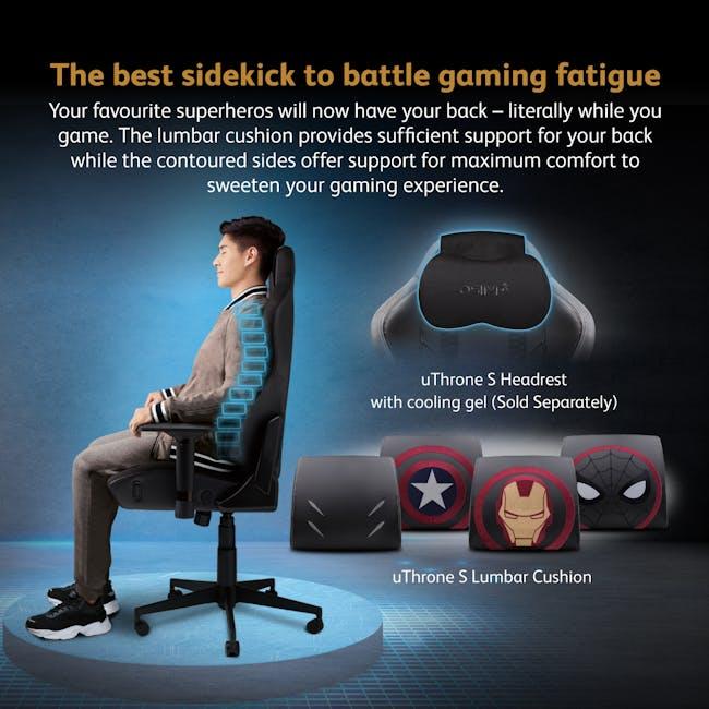OSIM x Marvel uThrone S Massage Chair with Customizable Massage - Self Assembled - Ironman - 5
