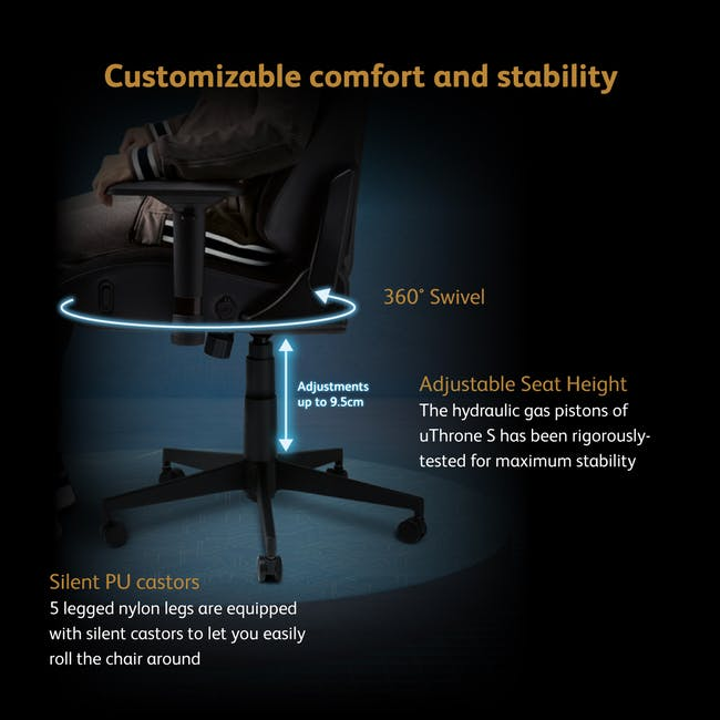 OSIM x Marvel uThrone S Massage Chair with Customizable Massage - Self Assembled - Ironman - 7