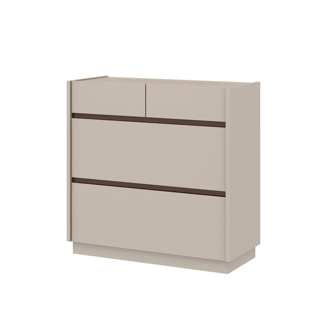 Peggy 4 Drawer Chest 0.8m - 0