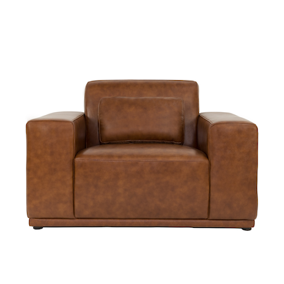 Milan Lounge Chair - Cowhide - Image 1