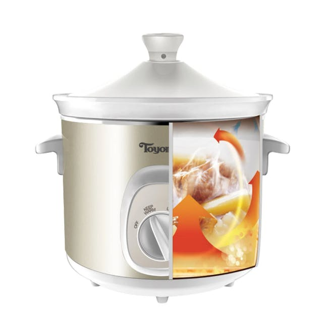 TOYOMI Electric Slow Cooker (2 Sizes) - 1