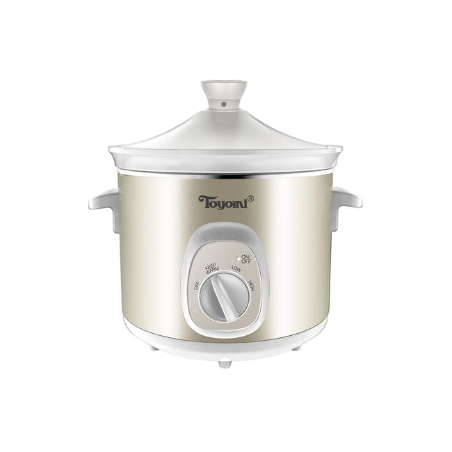 TOYOMI Electric Slow Cooker (2 Sizes) - 4