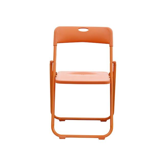 Nixon Folding Chair - Orange - 1