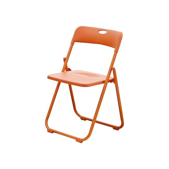 Nixon Folding Chair - Orange - 0