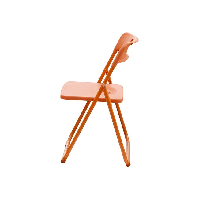 Nixon Folding Chair - Orange - 2