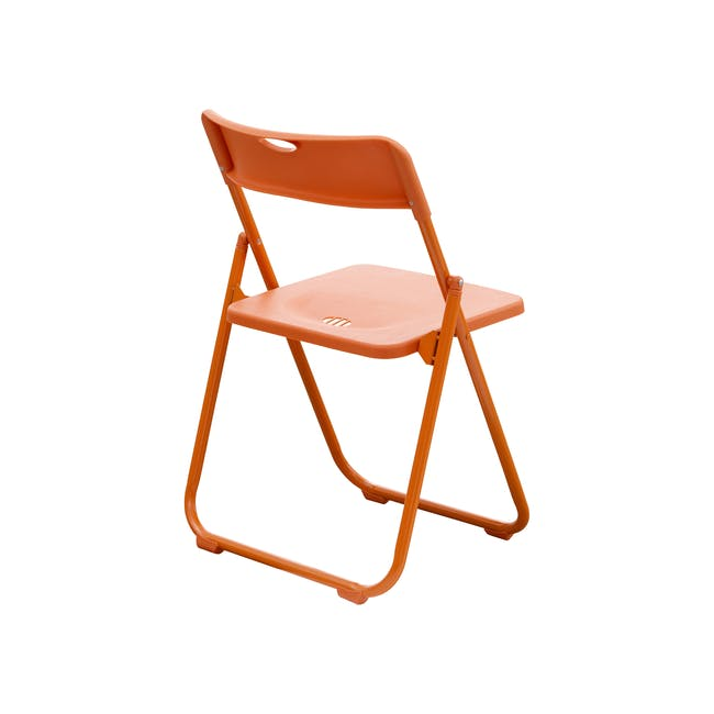 Nixon Folding Chair - Orange - 3