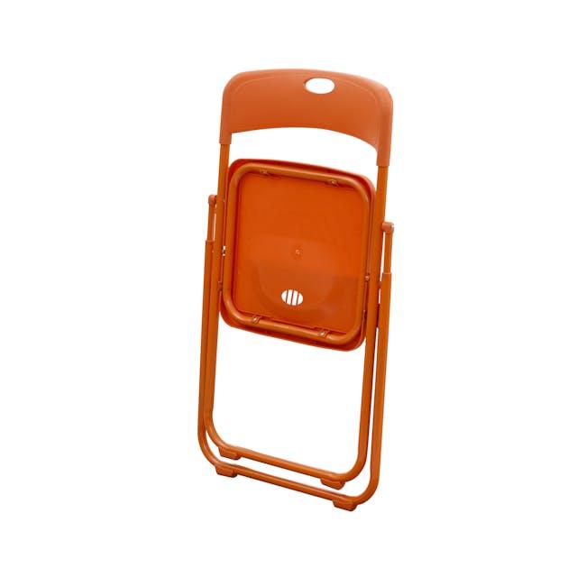 Nixon Folding Chair - Orange - 4
