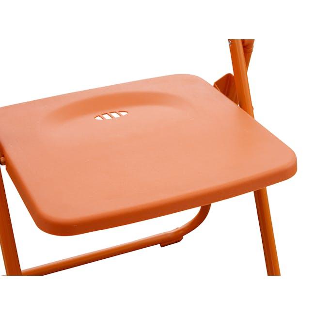 Nixon Folding Chair - Orange - 5