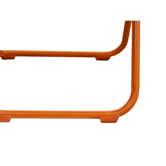 Nixon Folding Chair - Orange - 6