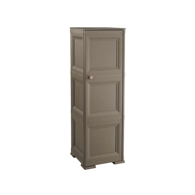 Omnimodus 6 Shelves Shoe Cabinet - Wood Brown - 0