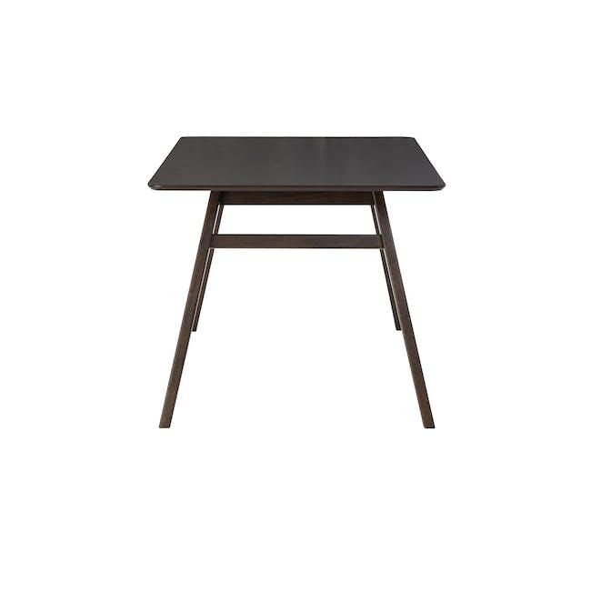 Cadell Dining Table 1.6m - Dark Chestnut - 2