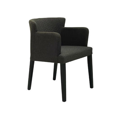 Rhoda Armchair - Black, Mud - Image 1