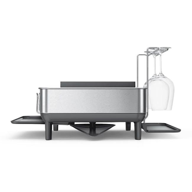 simplehuman Steel Frame Dish Rack - 2
