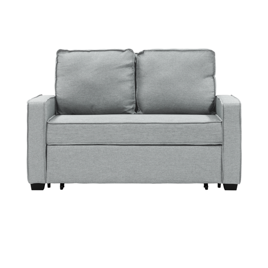 Arturo 2 Seater Sofa Bed - Silver, Sofa beds by HipVan | HipVan