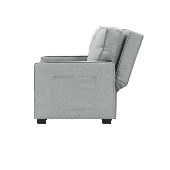 Arturo 2 Seater Sofa Bed Silver Sofa Beds By Hipvan