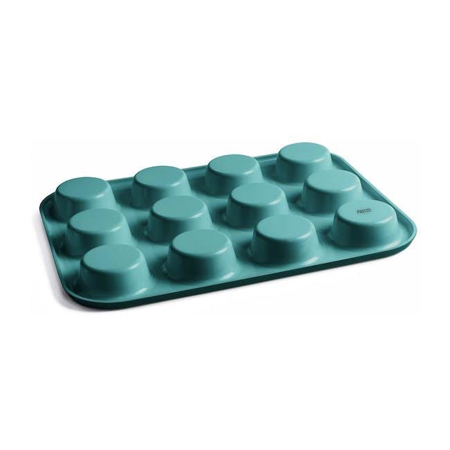 Jamie Oliver Atlantic Green Non-Stick Muffin Tin 12 Cups - 1