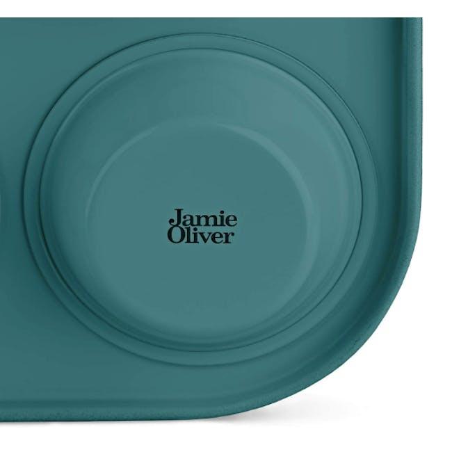 Jamie Oliver Atlantic Green Non-Stick Muffin Tin 12 Cups - 3