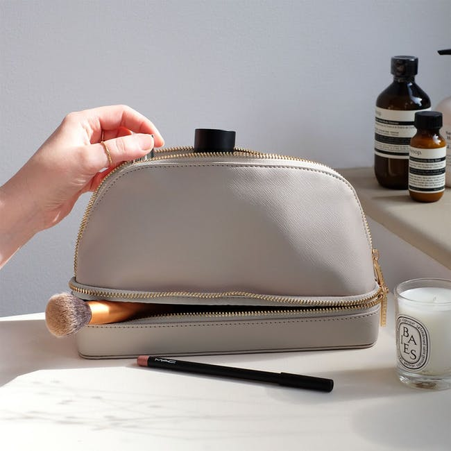 Stackers Makeup Bag - Taupe - 2