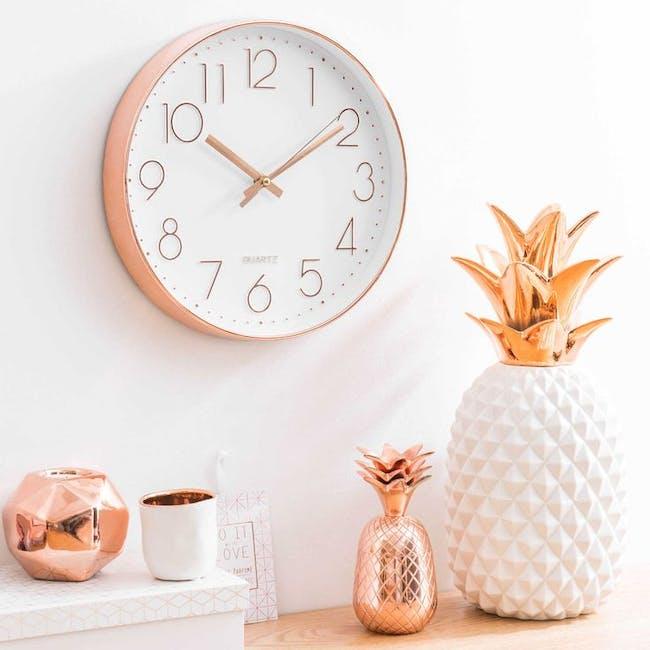 Rose Gold Wall Clock - 1