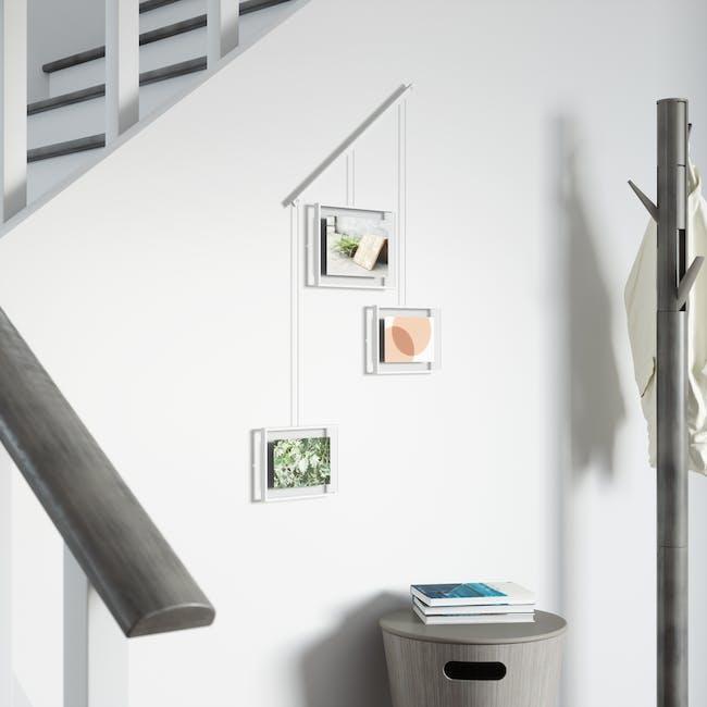 Exhibit 3 Frames Photo Display - White - 6
