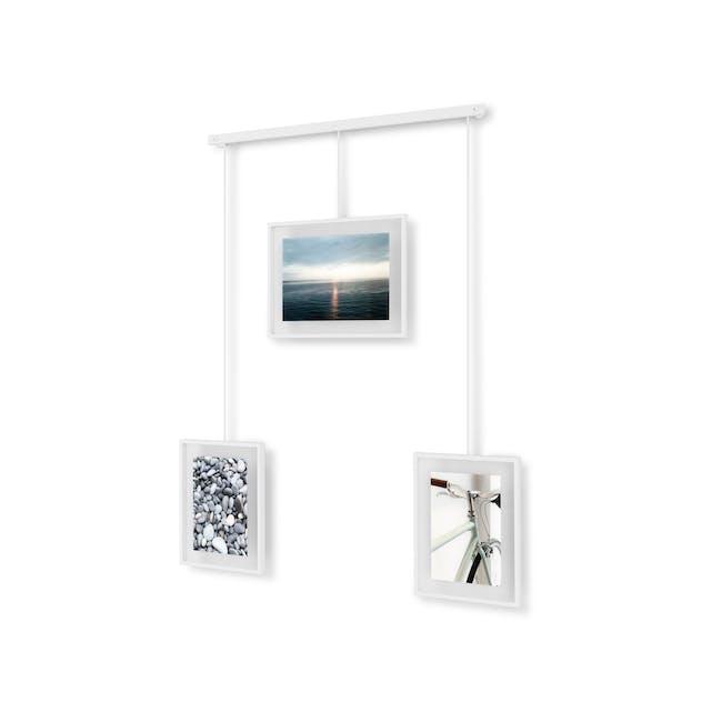 Exhibit 3 Frames Photo Display - White - 4