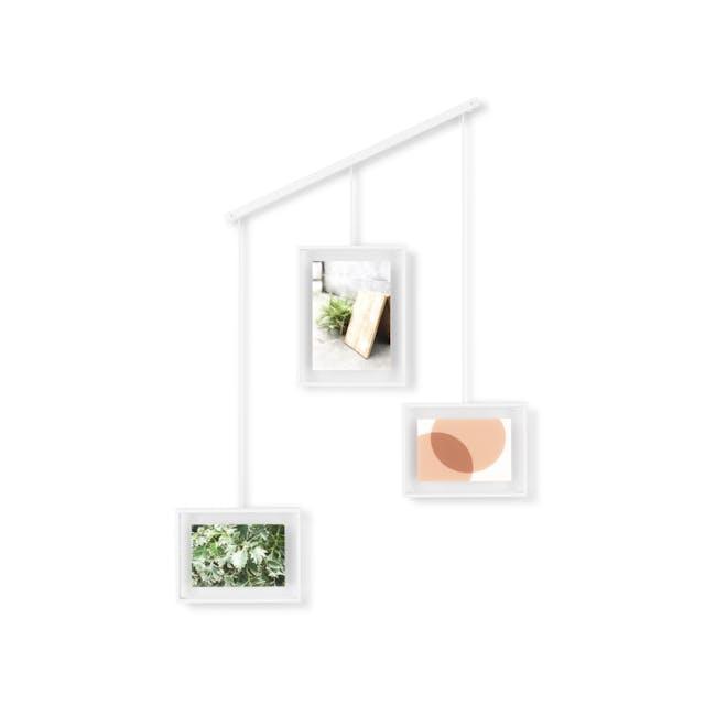 Exhibit 3 Frames Photo Display - White - 1