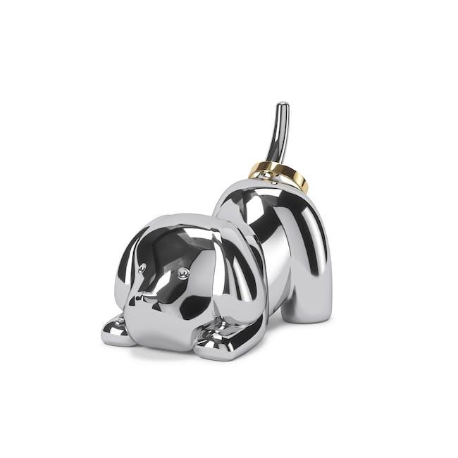 Zoola Puppy  Ring Holder - Chrome - 0