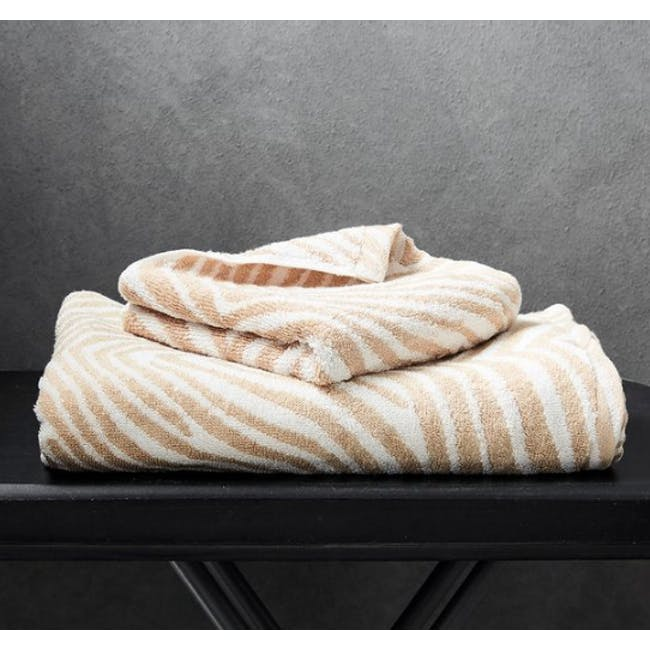 Canningvale Tribu' Bath Towel - Gold - 4