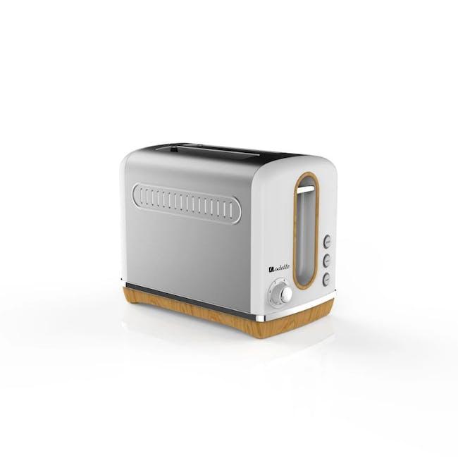 Odette Streamline 2-Slice Bread Toaster - White - 1