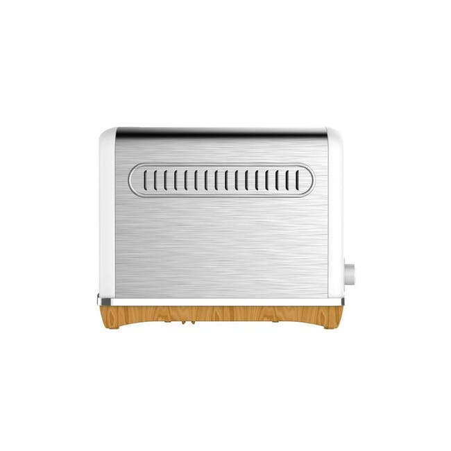 Odette Streamline 2-Slice Bread Toaster - White - 2