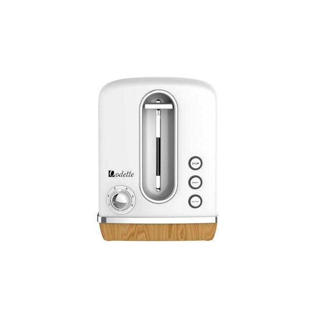 Odette Streamline 2-Slice Bread Toaster - White - 0