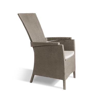 Vermont Rattan Chair - Cappuccino - Image 2