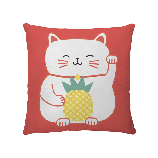 1688 - Pineapple Cat Cushion Cover