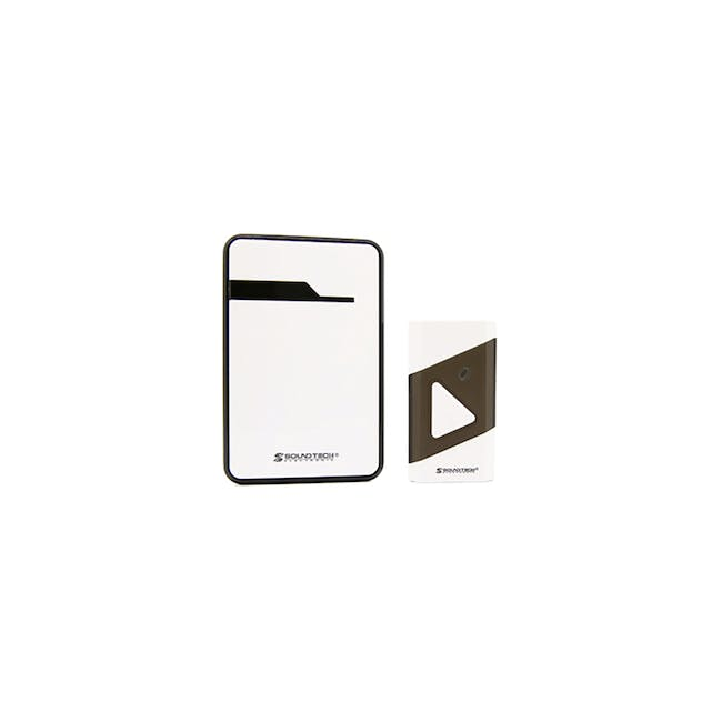 SOUNDTEOH Battery Operated Wireless DoorBell DD-019 - 0