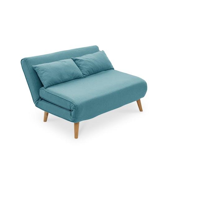Noel 2 Seater Sofa Bed - Teal - 9