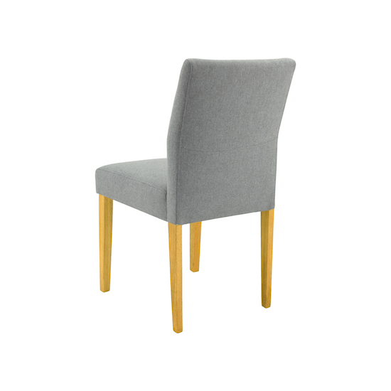 Malmo - Ladee Dining Chair - Natural, Pale Silver