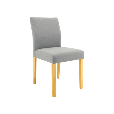 Ladee Dining Chair - Natural, Pale Silver