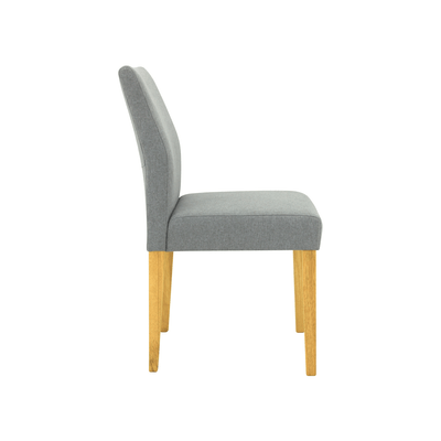 Ladee Dining Chair - Natural, Pale Silver - Image 2