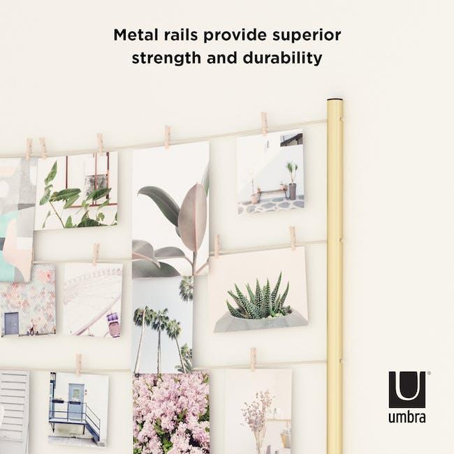 HangIt Metal Photo Display - Brass - 6