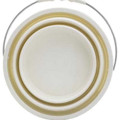 Foldable Bucket - Beige - Image 2
